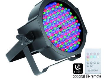 Nuevos focos PAR planos CLPFLAT1RGB10IR de Cameo Light