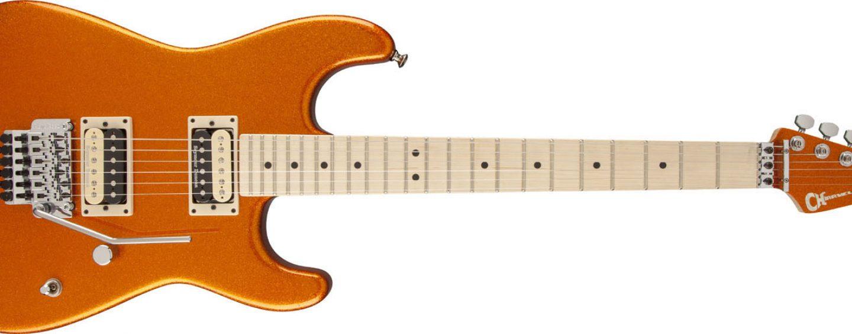Charvel anuncia la guitarra Super Stock SD1 FR edición especial de la serie Pro Mod