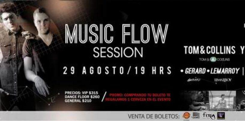 Music Flow Session realiza su primera edición en San Luis Potosí, México