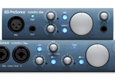PreSonus lanza las interfaces AudioBox iOne y AudioBox iTwo