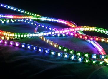 Scenex Lighting de GLP Inc., amplía sus cintas de pixeles LED