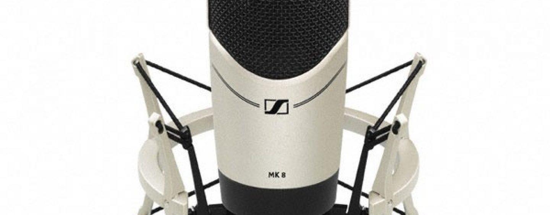 Sennheiser presenta el micrófono de estudio MK 8
