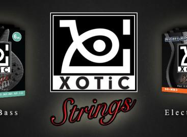 Xotic presenta línea de cuerdas para guitarras y bajos