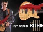 Cort presenta el bajo Rithimic de la serie Jeff Berlin