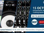 Prind-Co presenta: RCF visita Uruguay y Argentina con su clínica sobre Teoría Line Array