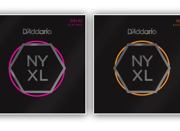 D'Addario presenta las cuerdas para guitarra NYXL