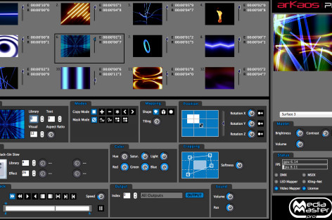 MediaMaster 4.1 es el nuevo software de ArKaos