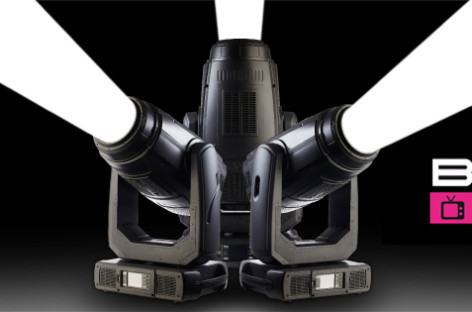 Nueva luminaria BMFL Spot de Robe