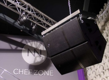 Sunnoise Disco en Alicante, España cuenta con el sonido de D.A.S.