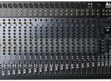 Los mezcladores de la serie Live de Alto Professional ya se encuentran disponibles