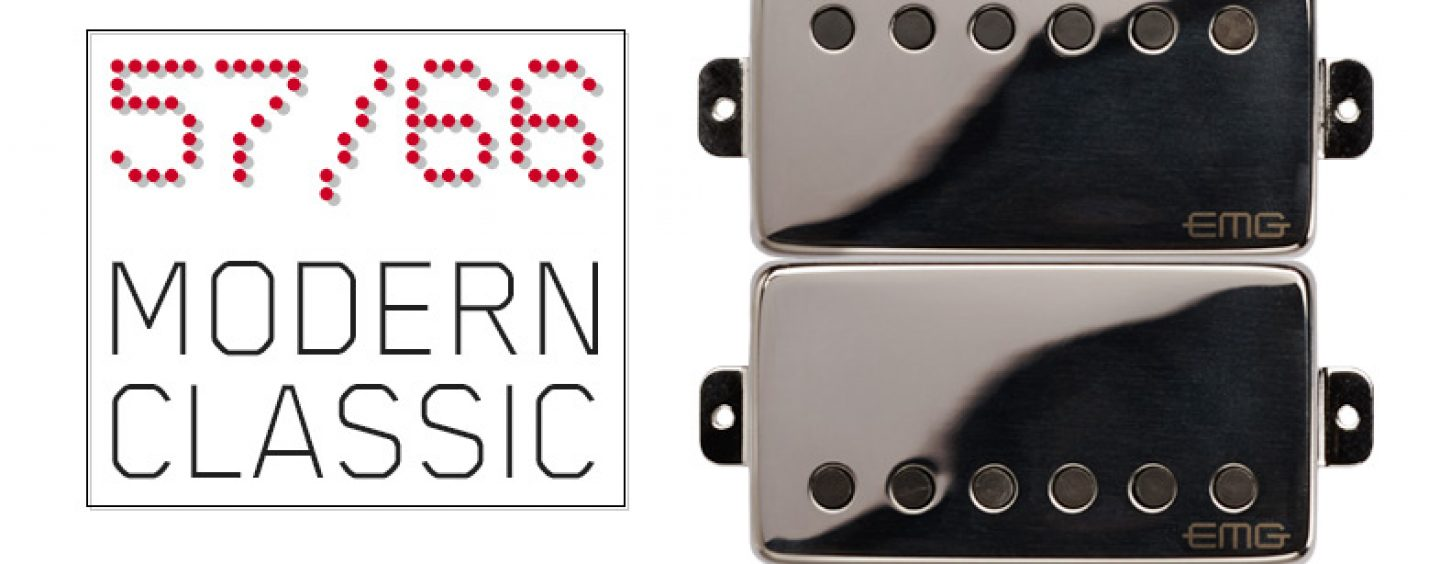 Humbuckers EMG: El set de pastillas 57/66 se encuentra disponible