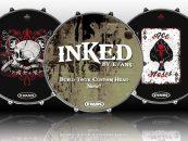 A través de Inked by Evans puede personalizar su drumhead
