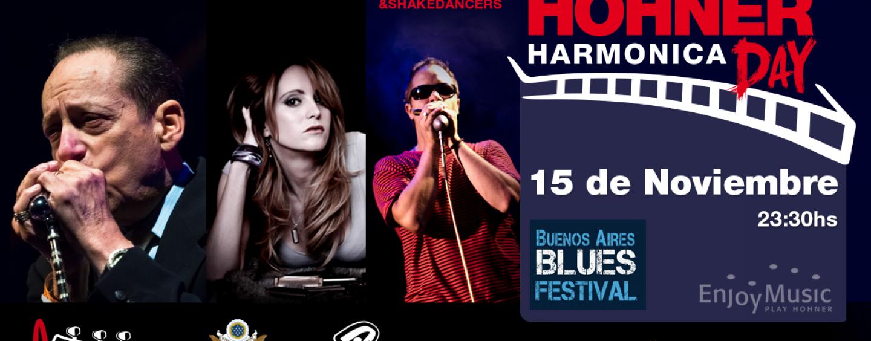 Disfruta del Hohner Harmonica Day en el Buenos Aires Blues Festival