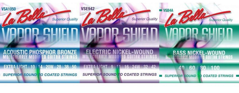 Vapor Shield son las nuevas cuerdas  de La Bella