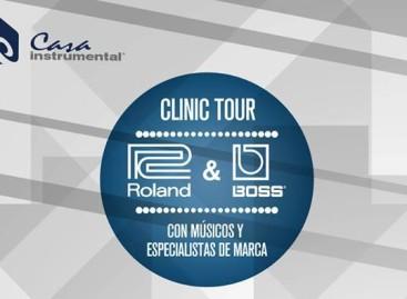Guatemala: Casa Instrumental presentan el Clinic Tour Roland & Boss