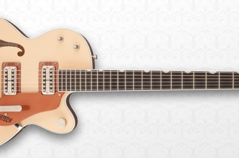Nueva guitarra G6112TCB-JR Center-Block 2-Tone de Gretsch