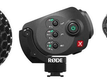 Nuevo micrófono Stereo VideoMic X de RØDE