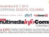 YAMAKI estará presente en Expo TecnoMultimedia InfoComm Colombia 2014