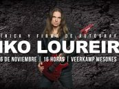 Veerkamp le invita a la clínica y firma de autógrafos de Kiko Loureiro