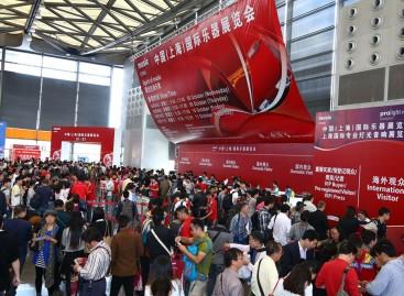 Los bastidores de la feria Music China