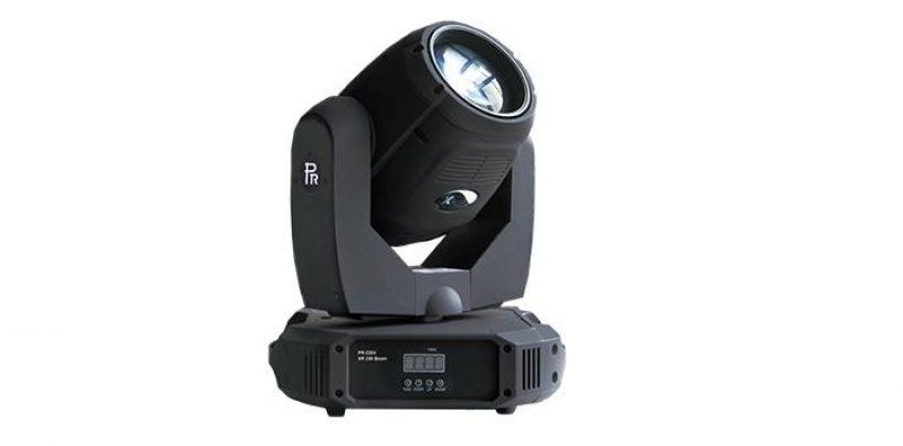 PR Lighting Ltd presenta el cabezal móvil XR 330 Beam