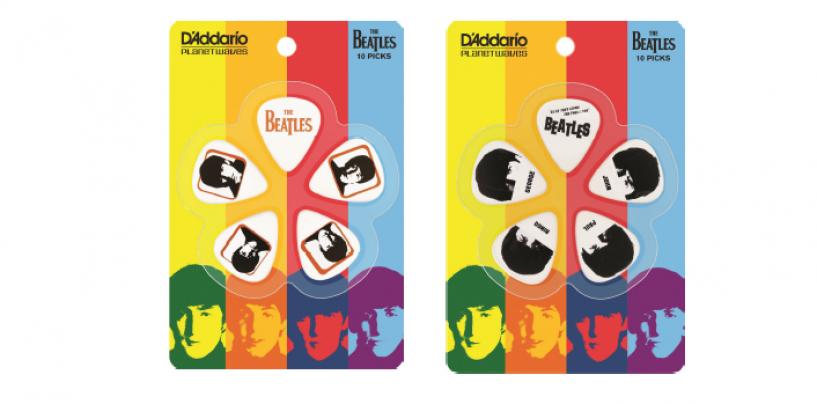 D'Addario lanza edición limitada de correas y púas The Beatles 2014
