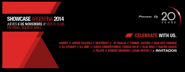 Pioneer DJ presenta el Showcase Argentina 2014