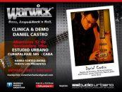 Warwick presenta la clínica & demo de Daniel Castro en Argentina