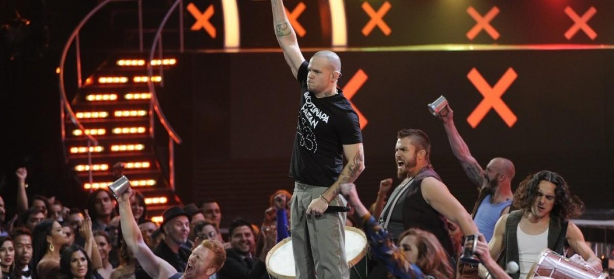Los Latin Grammy contaron con la presencia de Shure