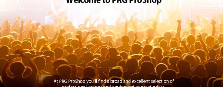PRG lanza el sitio web PRG ProShop