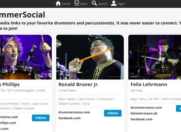 Drummersocial.com promueve artistas en todo el mundo