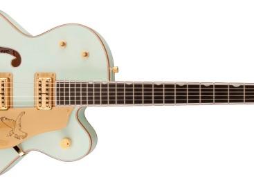 Gretsch presentó la nueva guitarra Crème de Marine Falcon