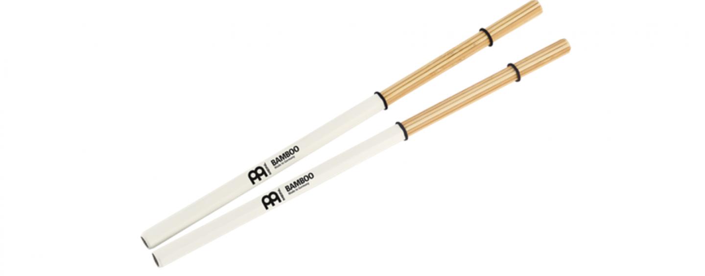 Recientemente Meinl presentó la colección de baquetas Bamboo Multi-Stick
