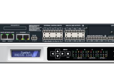 Symetrix presenta el SymNet Radius 12×8 EX y la tarjeta de interface VoIP