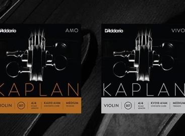 Cuerdas para violín Kaplan Amo y Vivo D'Addario