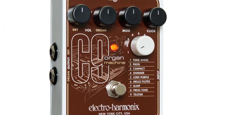 Electro-Harmonix le da más órgano a los guitarristas con el C9 Organ Machine