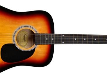 Squier lanza nuevo modelo de guitarra acústica Dreadnought SA-105