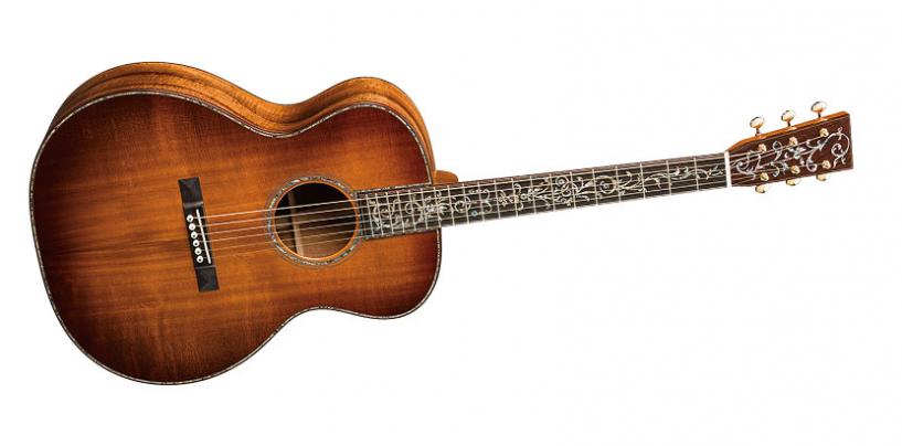 La guitarra SS-GP42-15 de Martin Guitar llega a NAMM 2015