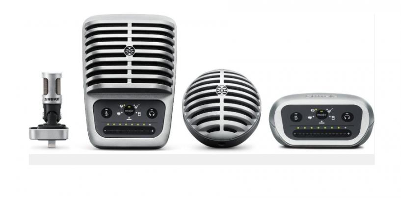 El MV51 forma parte de la nueva línea de micrófonos digitales MOTIV de Shure