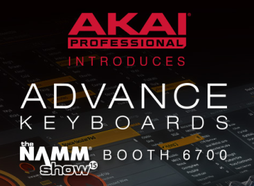 La serie Advanced Keyboard de Akai Professional llega al NAMM Show 2015