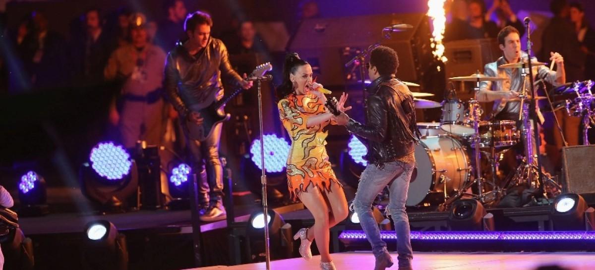 Katy Perry estuvo respaldada por MA Lighting, Fender y GLP en el Super Bowl
