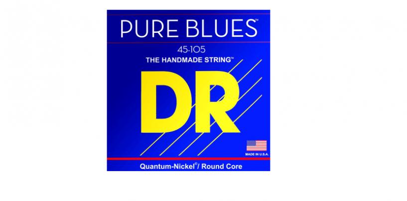 Nuevas cuerdas para bajo Pure Blues de DR Strings