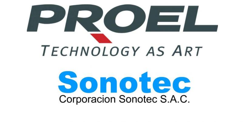 Sonotec SAC es el nuevo distribuidor de Proel en Perú
