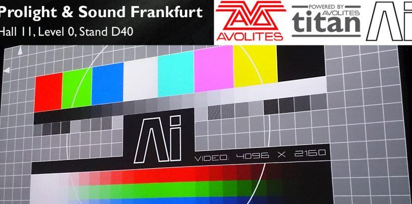 Las características de Titan V9 de Avolites son reveladas en Prolight + Sound