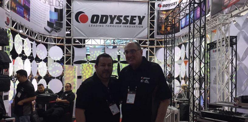 Steven H. Schiffman de Odyssey nos habla un poco de NAMM y sus nuevos productos