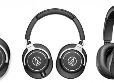 Audio-Technica presentó los nuevos auriculares ATH-M70x de la serie M