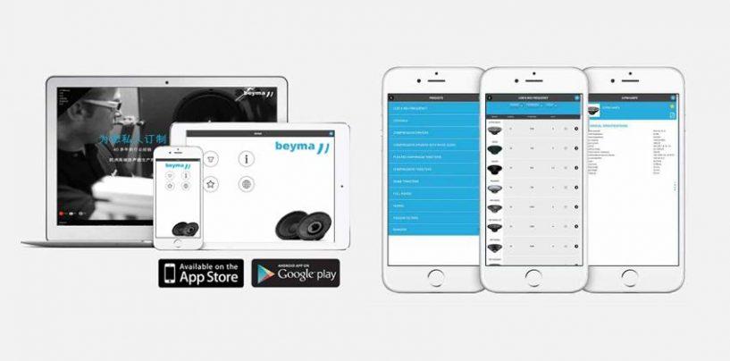 Beyma estrena página web en chino y su nueva aplicación Beyma Speakers
