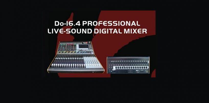 Conozca el mezclador digital Do-16.4 de Biema