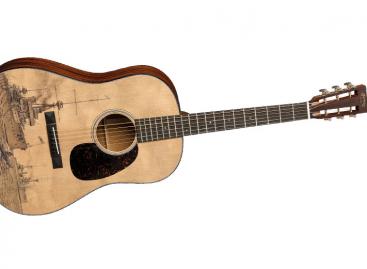 La nueva guitarra LE-HMSD 2015 de Martin Guitar será desvelada en Musikmesse