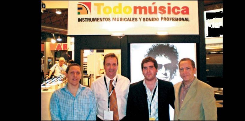 Búsqueda por profesionalización: TodoMúsica de Argentina pone sus fichas en el marketing para ganar mercado